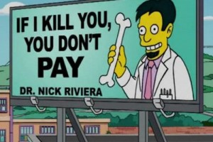 Simpsons sign jokes 5