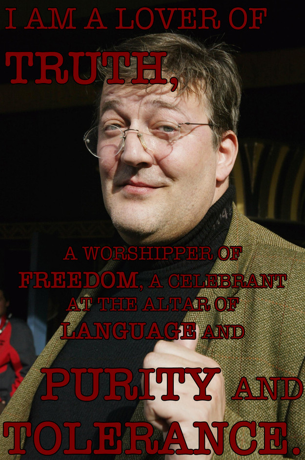 Stephen Fry Quote 14