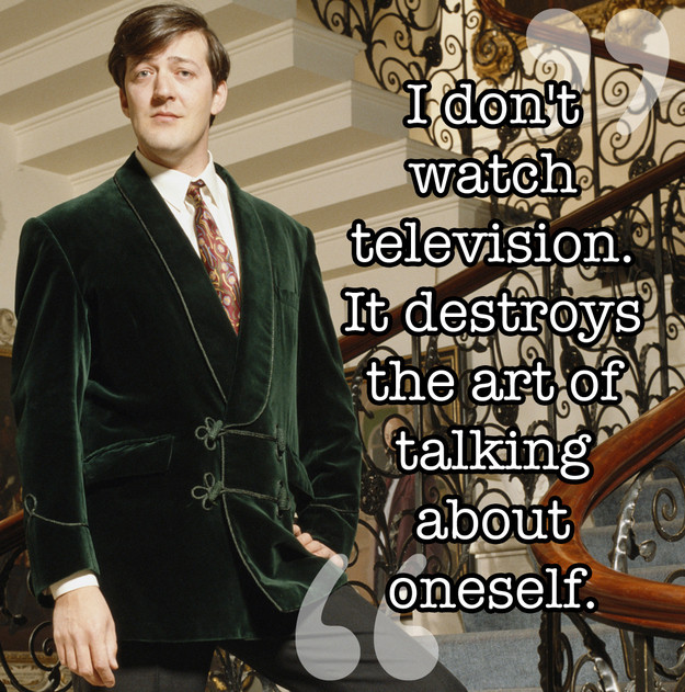 Stephen Fry Quote 5