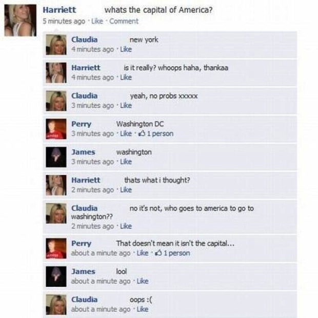 Stupid people from Facebook 13