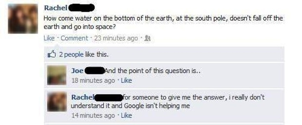 Stupid people from Facebook 18