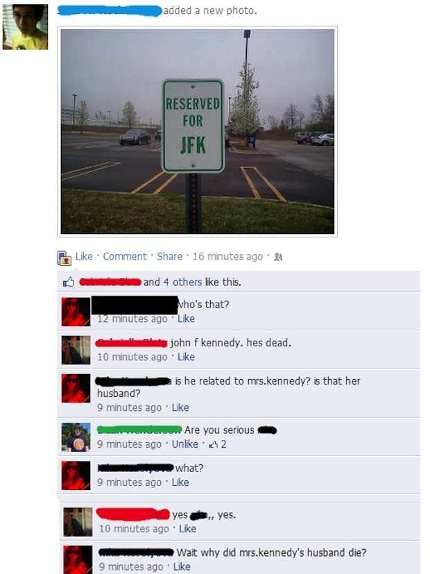 Stupid people from Facebook 21