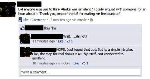 Stupid people from Facebook 23