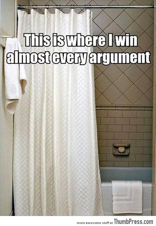 This is where I win almost every argument