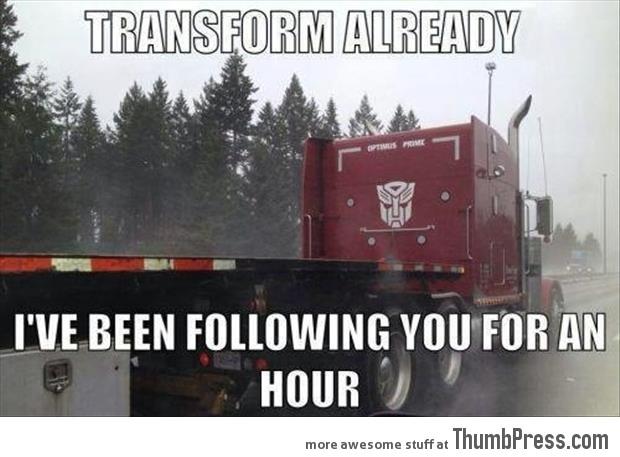 Transform Already