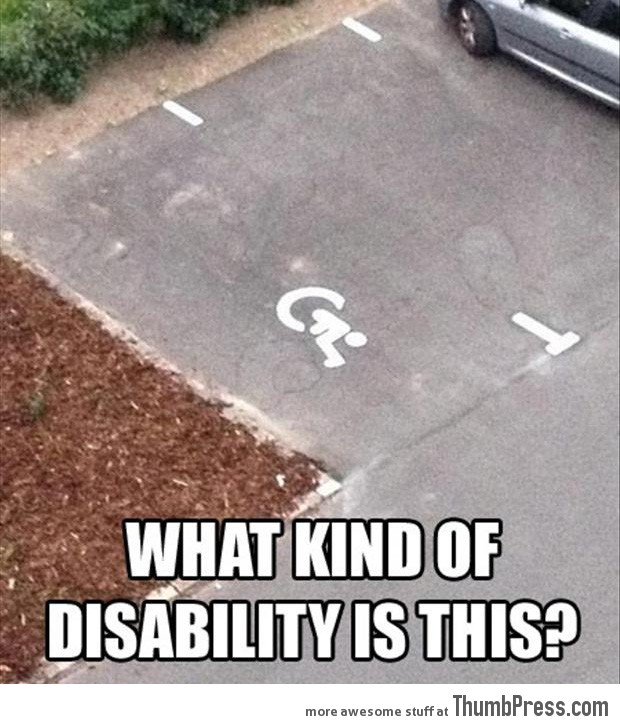 What kind of disability is this?