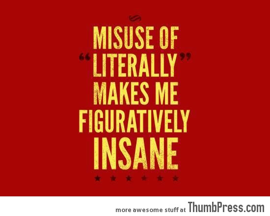 misuse of literally