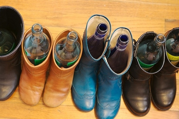8. Keeping your boots in shape