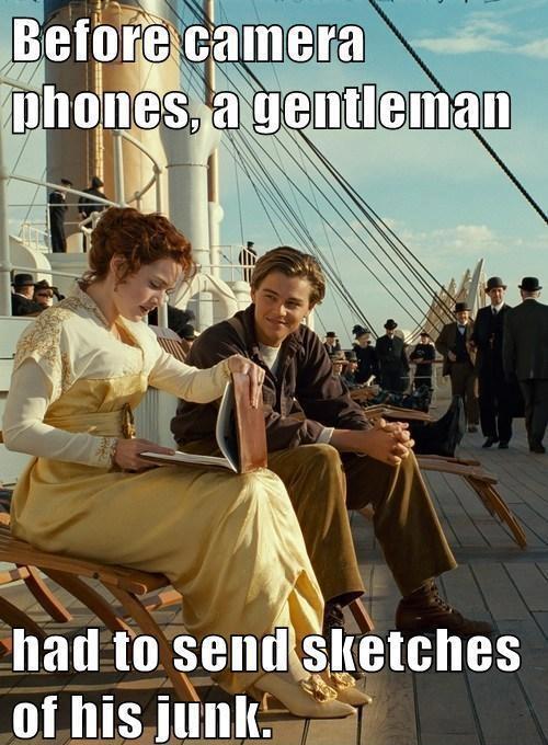 Before camera phones...