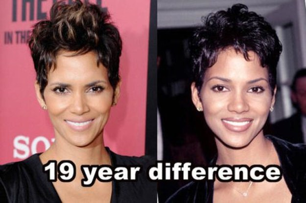 Celebs Who Doesn't Seem To Be Getting Older — Halle Berry