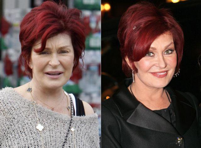 Sharon osbourne without makeup