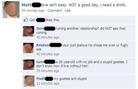 Couple Fights On Facebook — 8