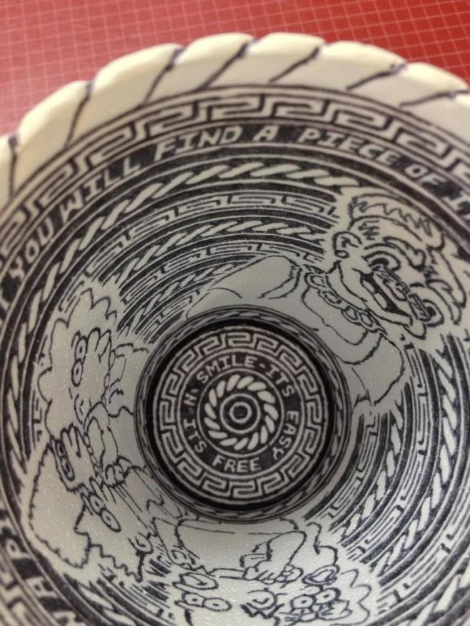 Crazy Styrofoam Cup Art 4