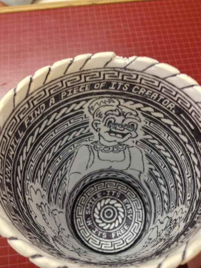 Crazy Styrofoam Cup Art 5