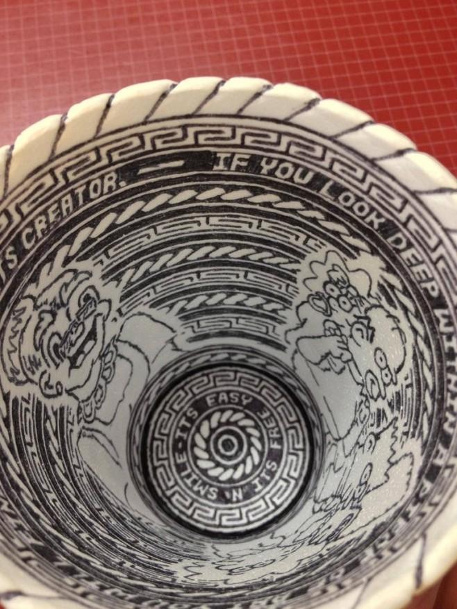 Crazy Styrofoam Cup Art 7