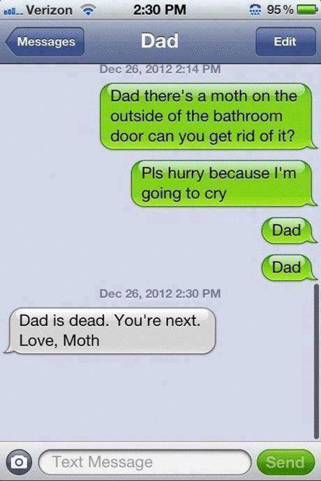 Dad is dead
