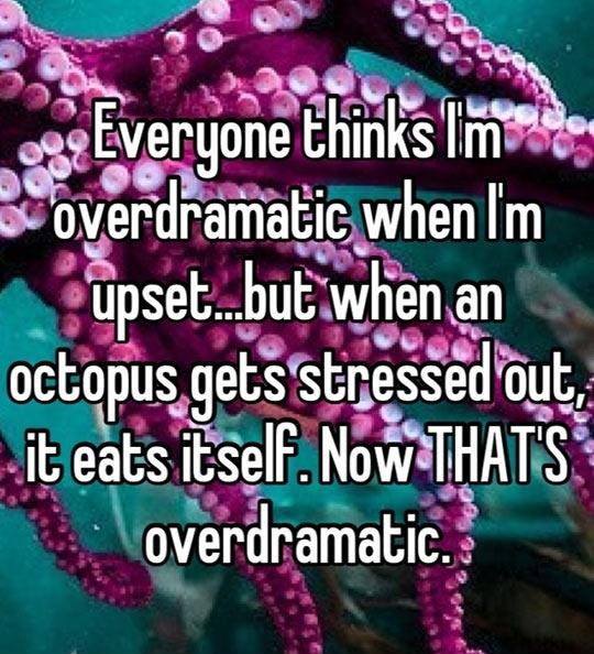 Everyone thinks I'm overdramatic...