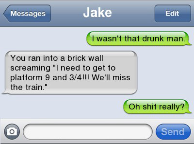 Funniest Drunk Texts Ever 7
