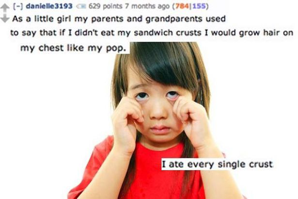 Funny Lies Parents Tell Their Kids 10