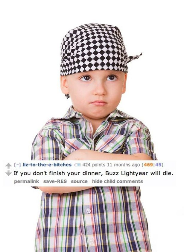 Funny Lies Parents Tell Their Kids 14