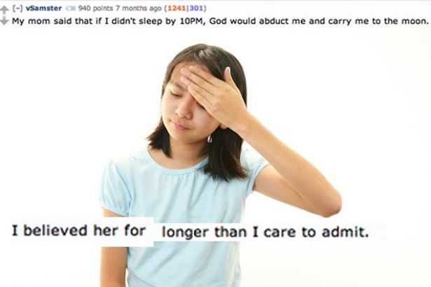 Funny Lies Parents Tell Their Kids 2