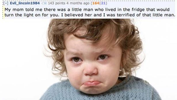 Funny Lies Parents Tell Their Kids 6