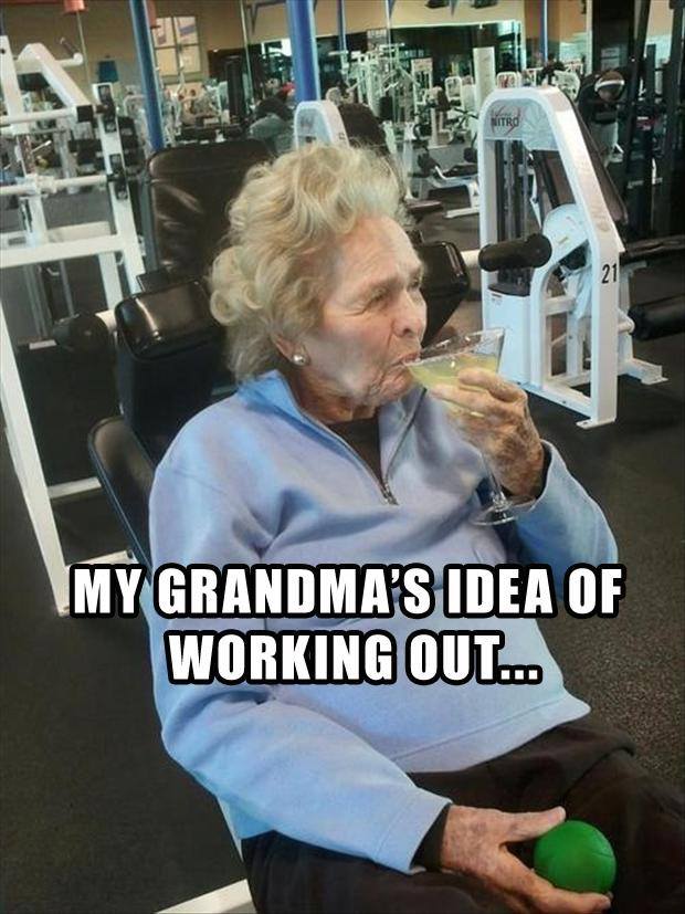 Gramma you're doing it wrong