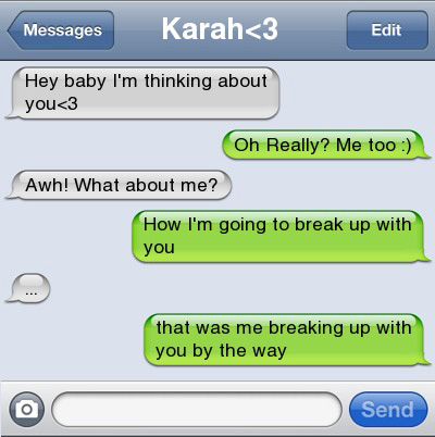 12 Best Break-Up and Get-Together Text Conversations