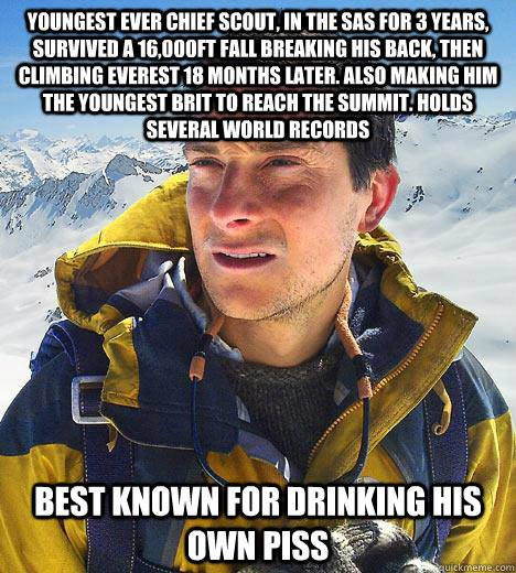 How many bears could Bear Grylls grill if Bear Grylls could grill bears?