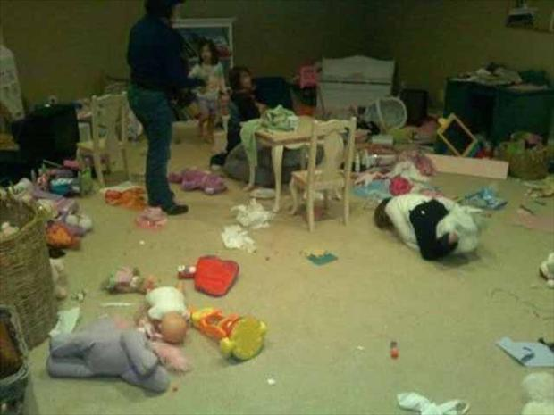 Kids Making Mess 10