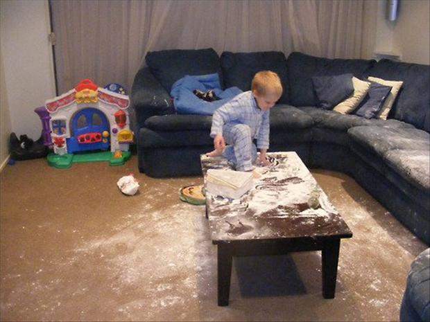Kids Making Mess 15