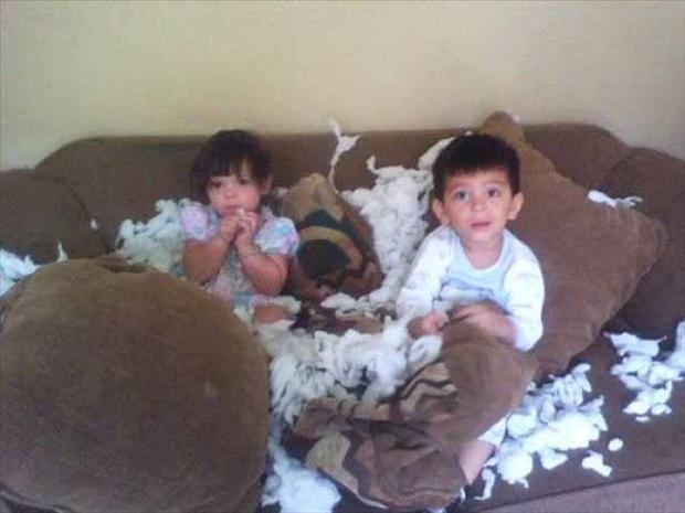 Kids Making Mess 7
