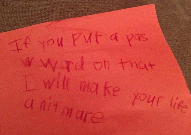 Kids letters 14