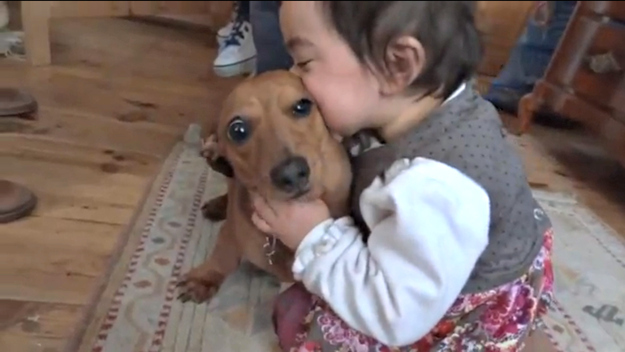 Kids trying to eat their pets 5