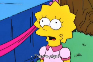 Lisa, it's time you learned the truth about men.
