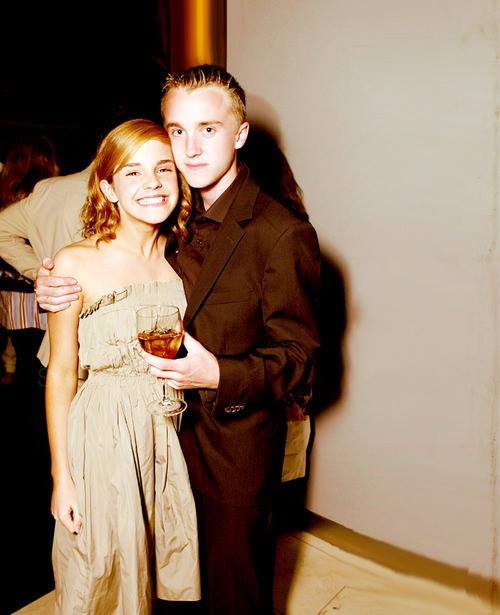 Little Tom and (super excited) Emma at a party.