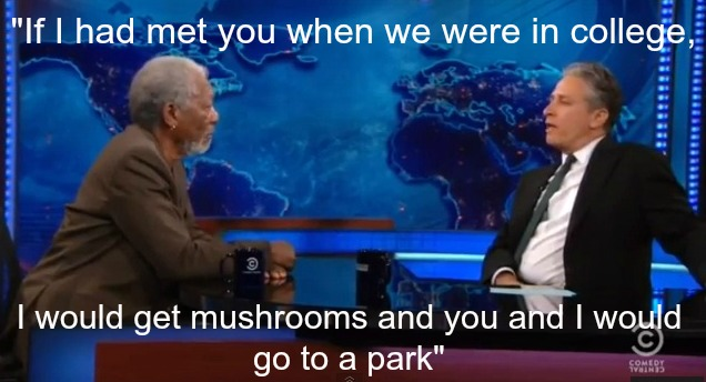 Morgan Freeman is Awesome