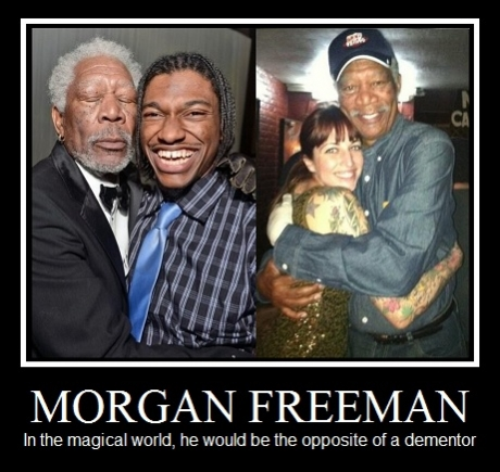 Morgan Freeman is awesome