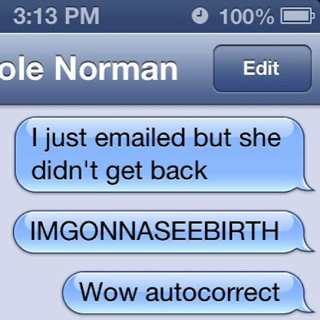 Most Hilarious Autocorrects Ever 5