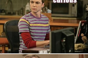 Sheldon Cooper funny faces