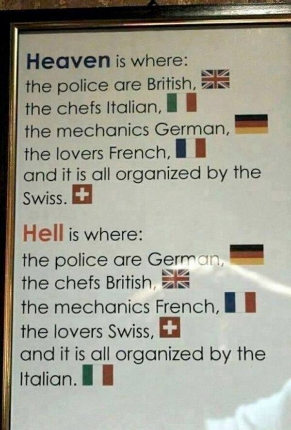 The Difference Between Heaven And Hell