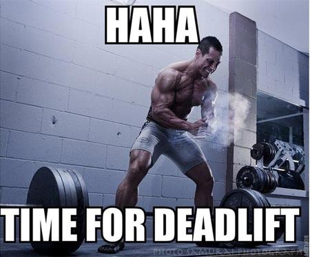 Time For Deadlift