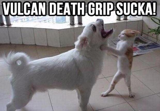 Vulcan death grip