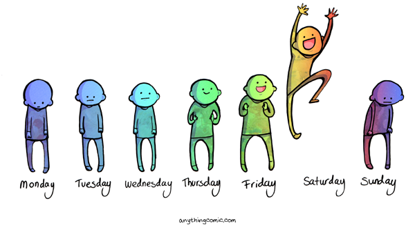 Weekends are awesome