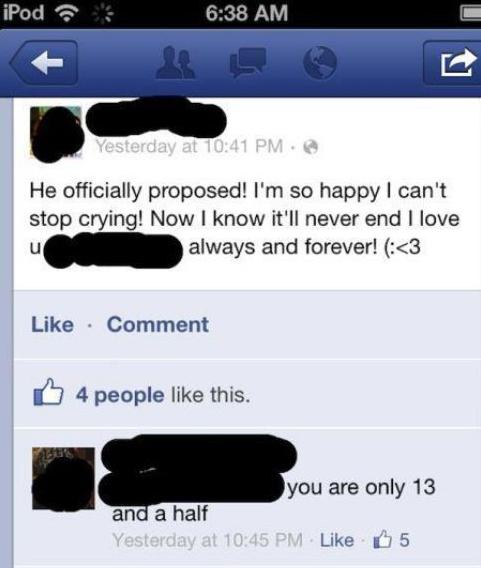 Worst Facebook Fails — 11