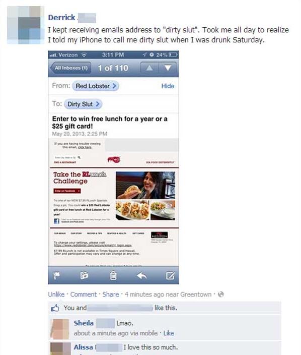 Worst Facebook Fails — 14