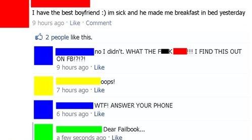 Worst Facebook Fails — 3