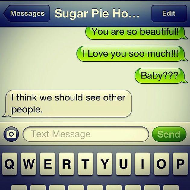 12 Hilarious Breakup Texts — 4