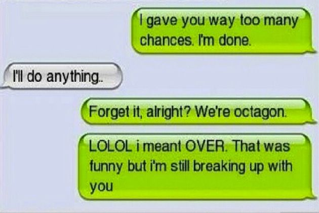 12 Absolutely Hilarious Breakup Texts