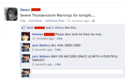 All hail deer lord!